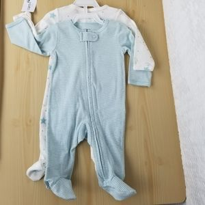 NEW Baby Boy Pajamas, Size 3 Months